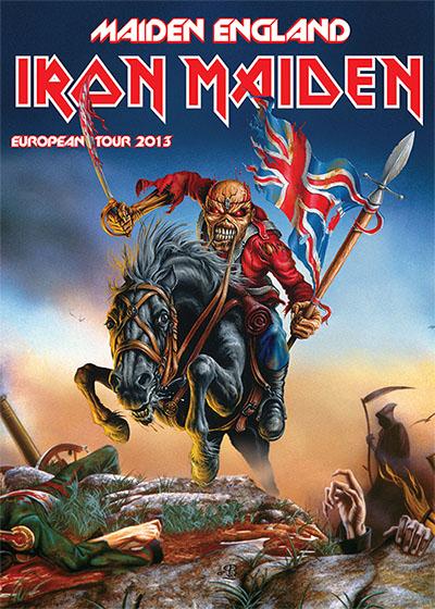 Maiden England 2013