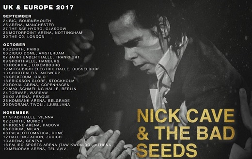 Live Review] Nick Cave and The Bad Seeds – Ziggo Dome